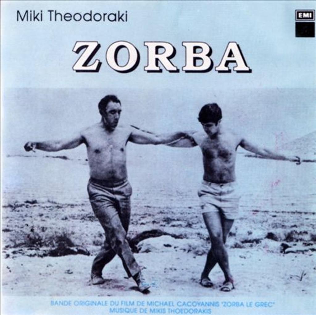 Zorba le grec : bande originale du film / musique de Mikis Theodorakis   Theodorakis, Mikis. Compositeur