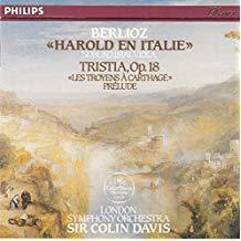 Harold en Italie. Tristia. Les Troyens à Carthage / Compositeur Hector Berlioz   Berlioz, Hector (1803-1869). Compositeur