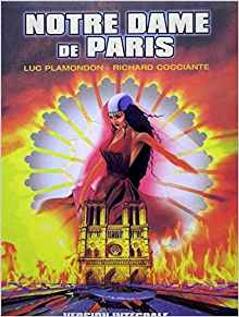 Notre-Dame de Paris : piano et chant   Plamondon, Luc. Auteur
