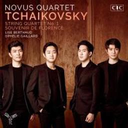 Quatuor à cordes N°1, op. 11, ré majeur / Piotr Ilitch Tchaïkovski, comp. | Tchaïkovski, Piotr Ilyitch (1840-1893). Compositeur