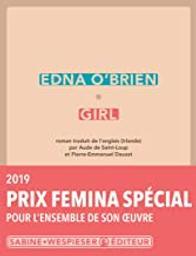 Girl / Edna O'Brien   O'Brien, Edna (1932-....). Auteur