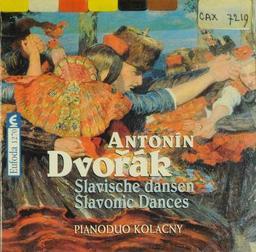Danses slaves pour piano à quatre mains / Compositeur Antonin Dvorak | Dvorak, Antonin (1841-1904). Compositeur