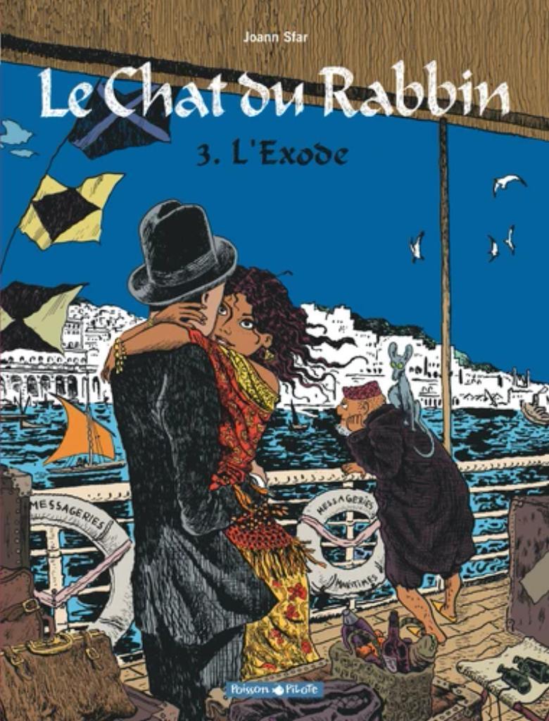 L'exode / Joann Sfar   Sfar, Joann (1971-....). Auteur